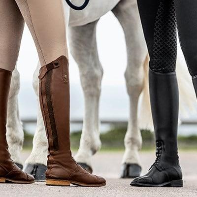 Ridestøvler og ridesko