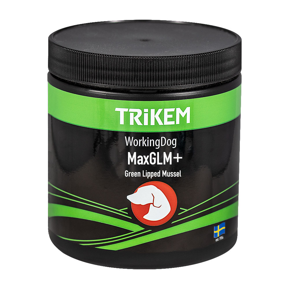 Tilskudd  Working Dog Max GLM + Trikem