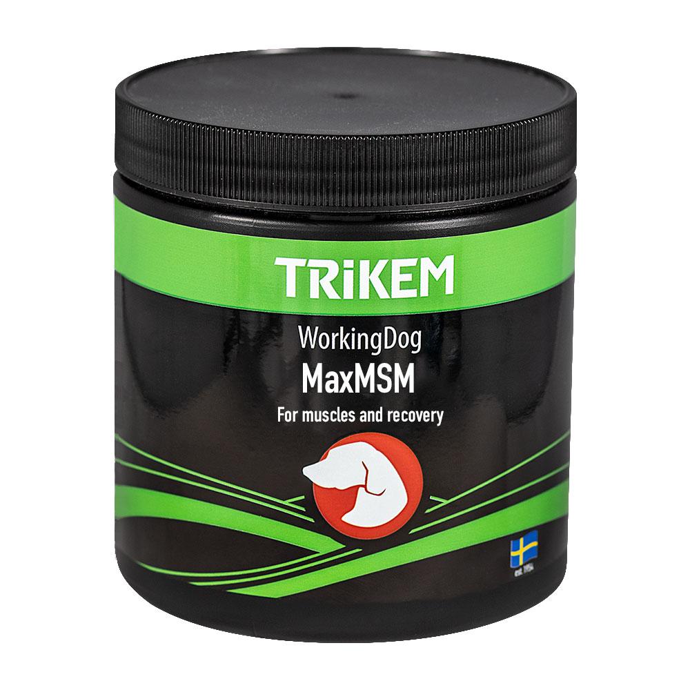Tilskudd  Working Dog Max MSM + Trikem