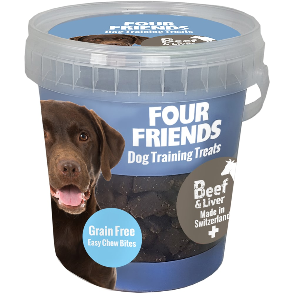 Hundegodis  Treats Beef & Liver FourFriends