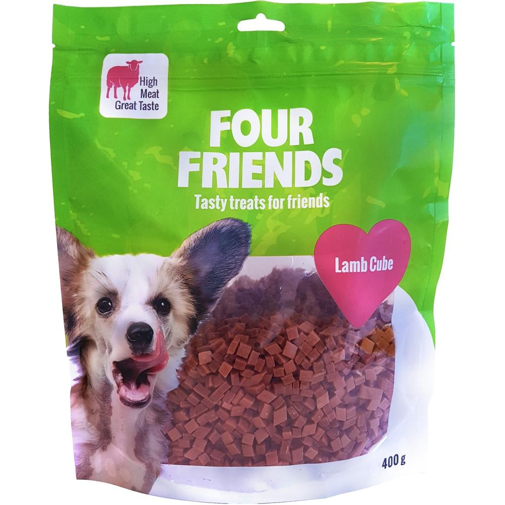 Hundegodis  Lamb Cube 400 g FourFriends