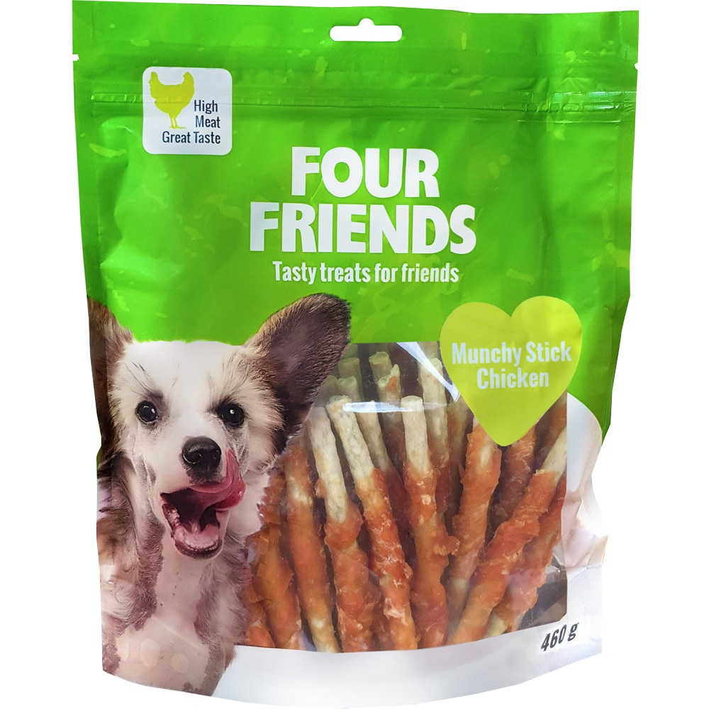 Hundetygg  Munchy Stick Chicken 460g FourFriends