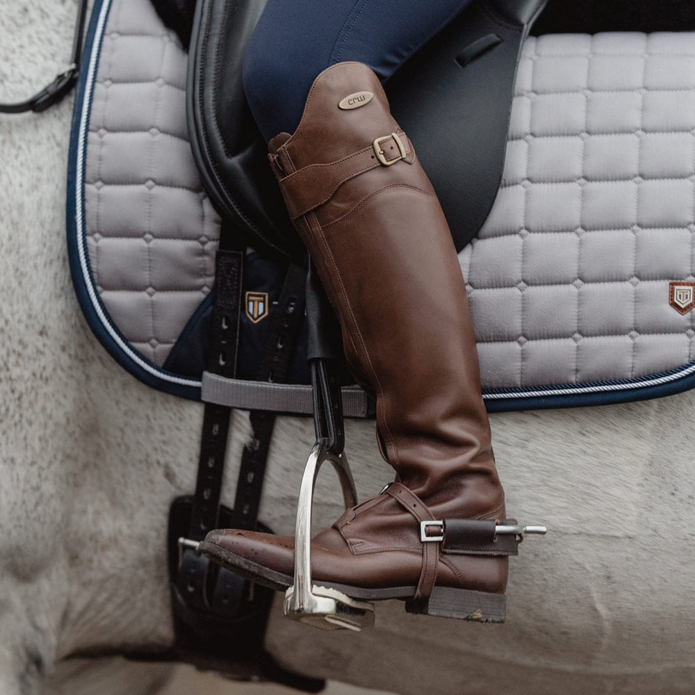 Lærridestøvler  Mendoza CRW®