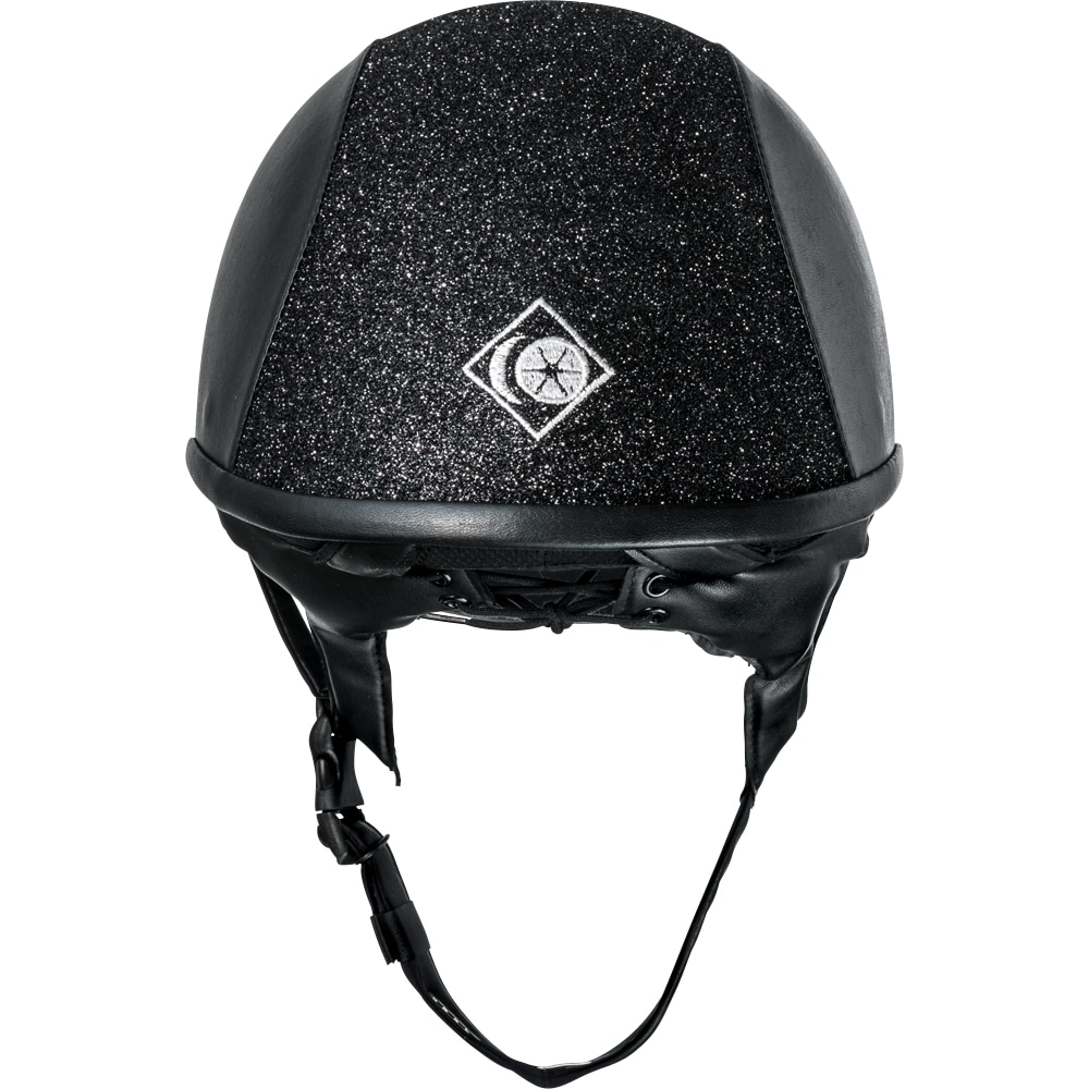 Ridehjelm VG1 AYR8 Plus Sparkly Leather Look Charles Owen