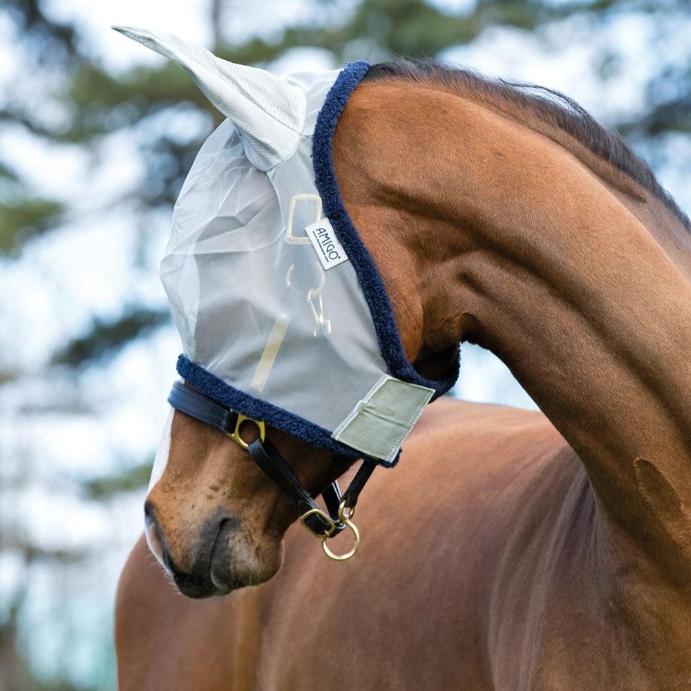 Fluemaske  Amigo Fine Mesh Horseware®