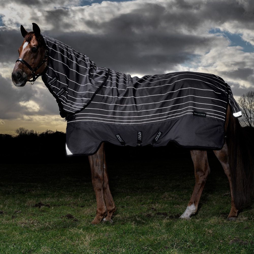 Utedekken  Bravo Reflective Plus Lite 100 Horseware®