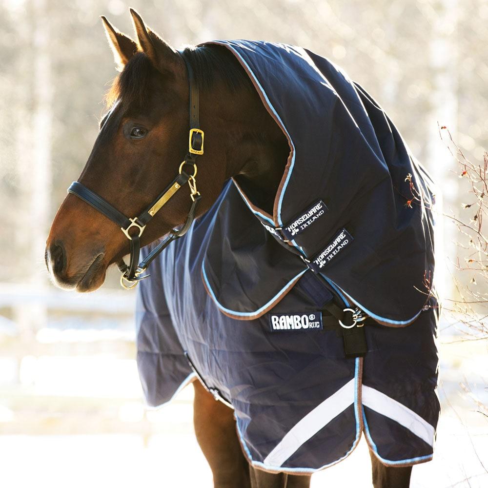 Vinterdekken med hals Rambo Duo Horseware®