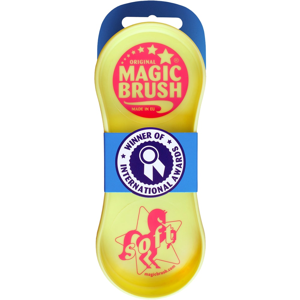 Piggbørste  Soft Magic Brush
