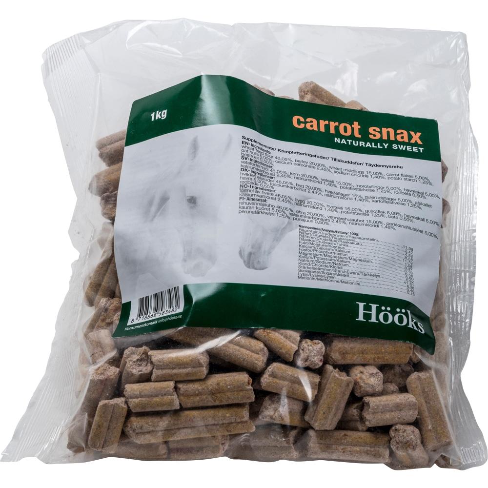 Hestegodbiter  Carrot snax natural 1 kg Hööks