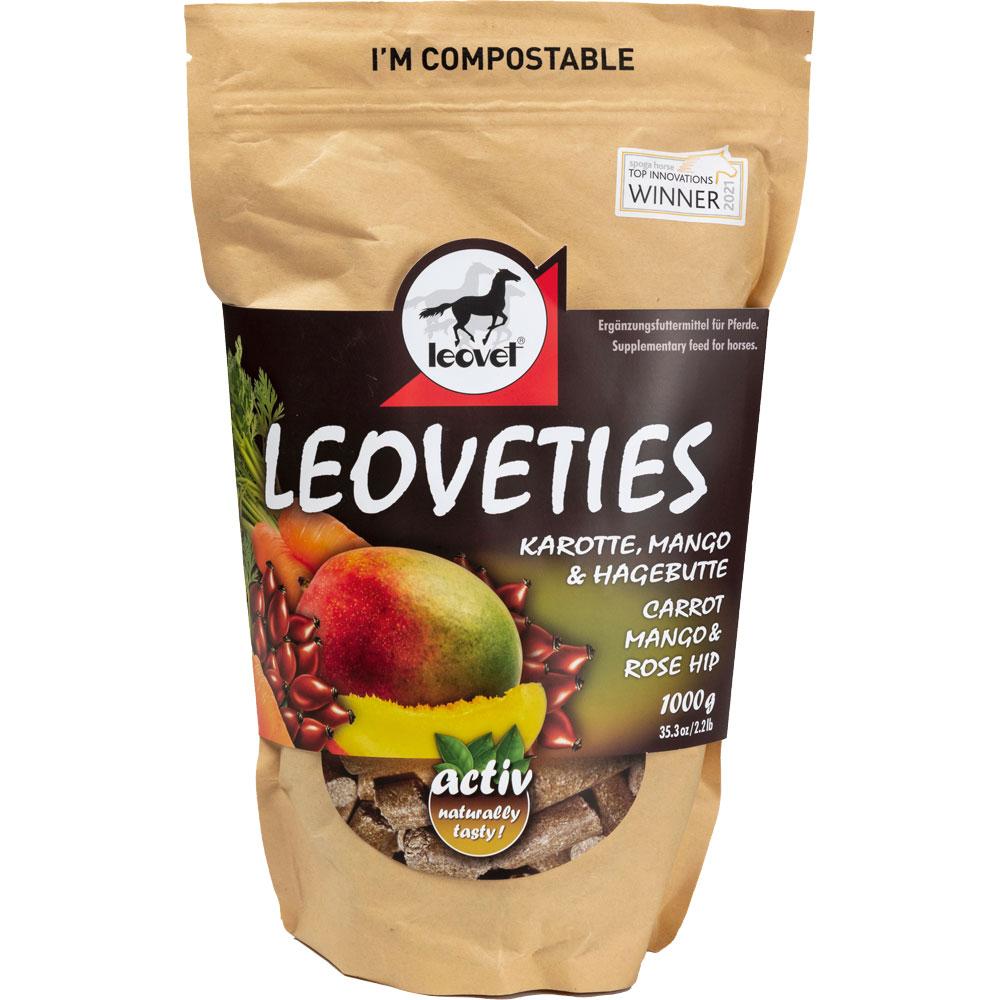 Hestegodbiter  Leoveties Carrot, Mango & Rosehip leovet®