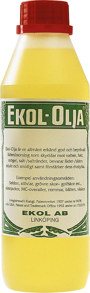 Lærolje Fargeløs  Ekol