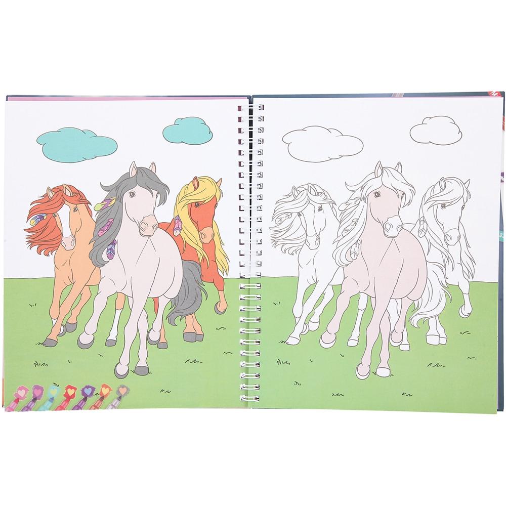 Tegnebok  Horse Show Miss Melody